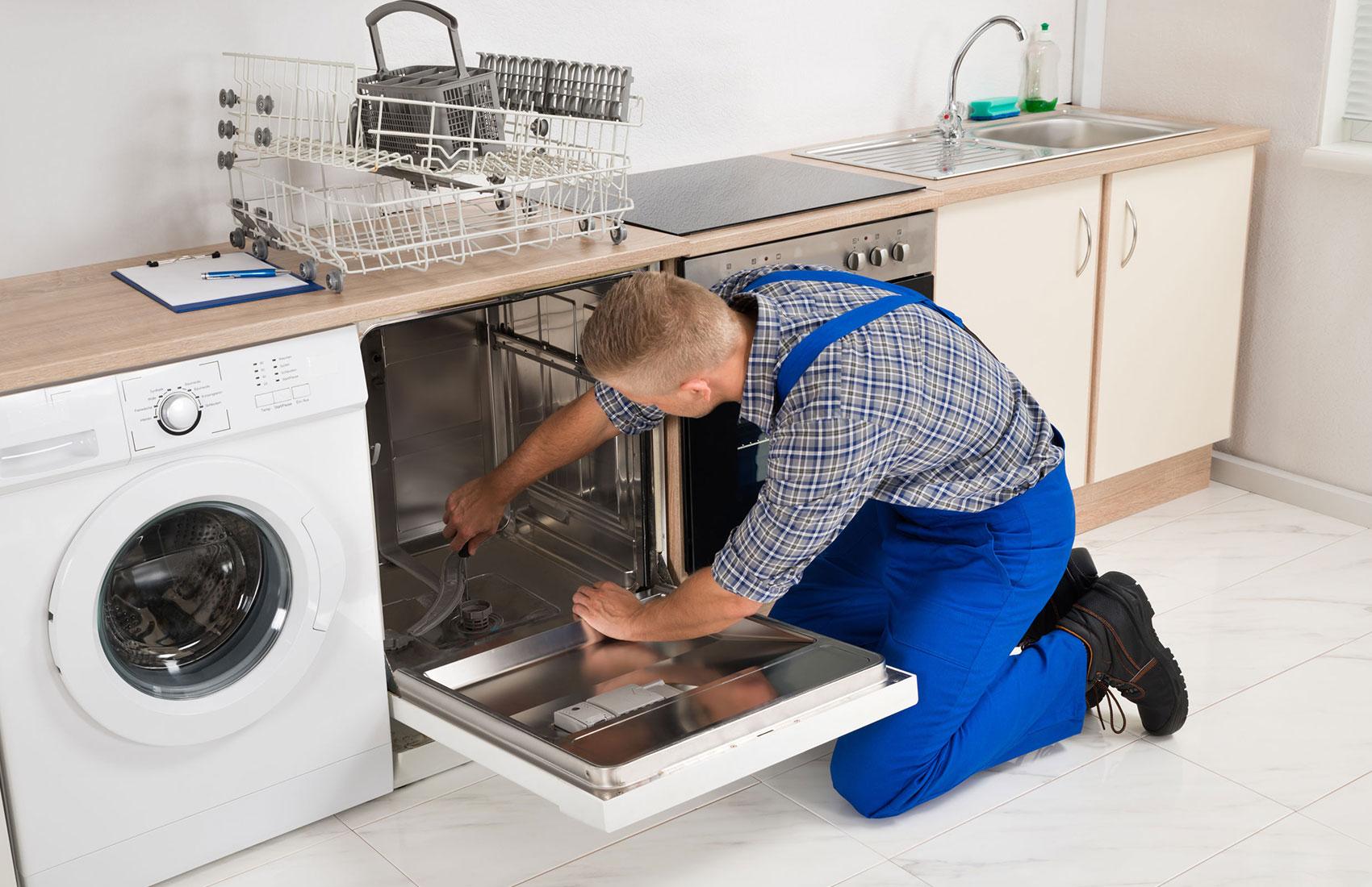 pannes les plus fréquentes sur lave-vaisselle